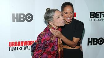 NEW YORK, NY - SEPTEMBER 26:  Ballet Dancer/actress Raven Wilkinson and ballerina Misty Copeland attend the closing night screening of 'A Ballerina's Tale' on day 4 of the 2015 Urbanworld Film Festival at AMC Empire 25 Theater on September 26, 2015 in New York City.  (Photo by J. Countess/Getty Images)