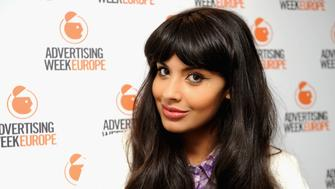 LONDON, ENGLAND - APRIL 01:  Jameela Jamil poses as she attends day two of Advertising Week Europe at BAFTA 195 Piccadilly on April 1, 2014 in London, England.  (Photo by Stuart C. Wilson/Getty Images For Advertising Week)