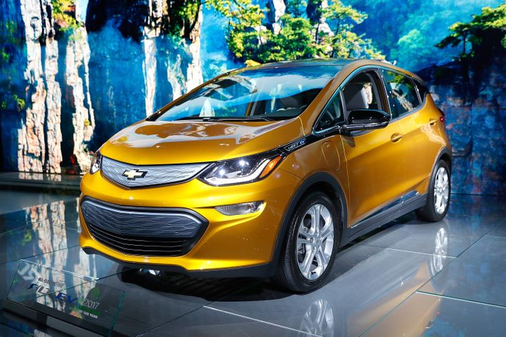 The Chevrolet Bolt EV.