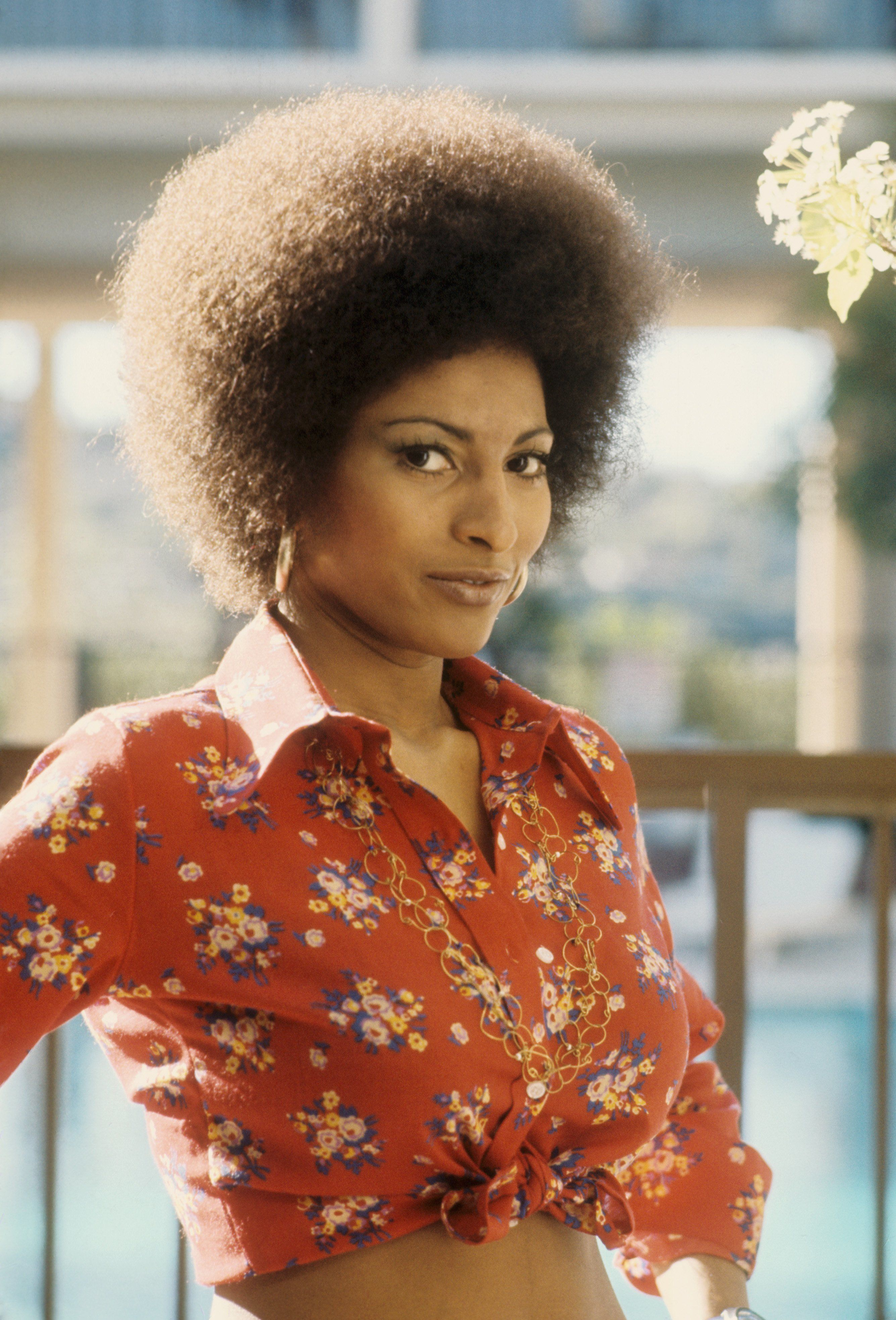 Actress Pam Grier poses for a photo circa 1972 in Los