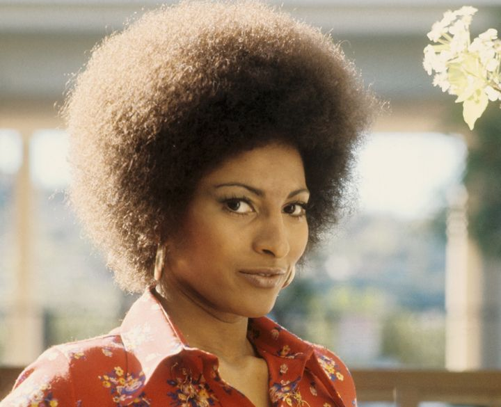 Actress Pam Grier poses for a photo circa 1972 in Los Angeles.