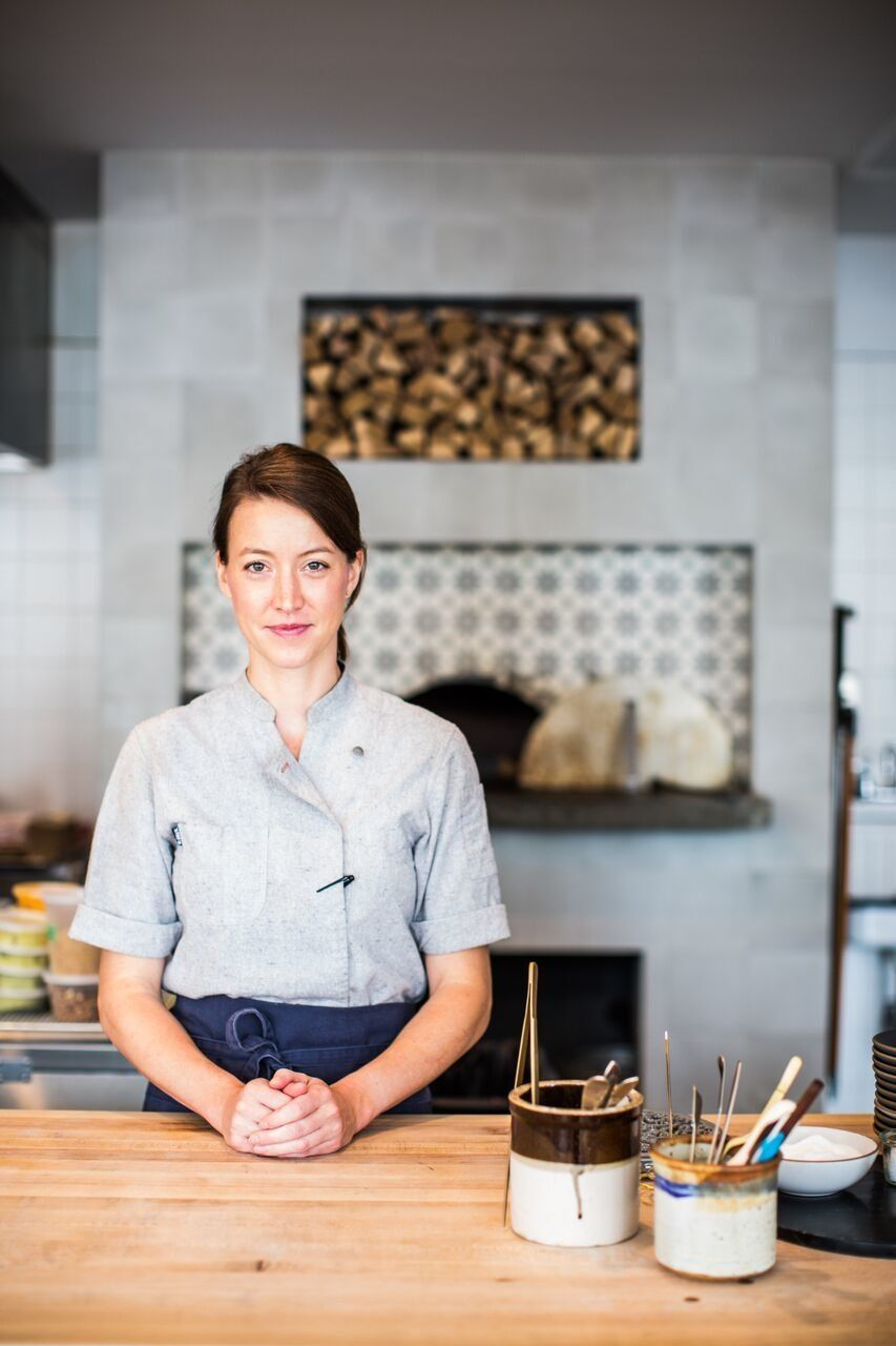 Chef Julia Sullivan says it's important for female and male industry leaders to lead by example in their businesses and