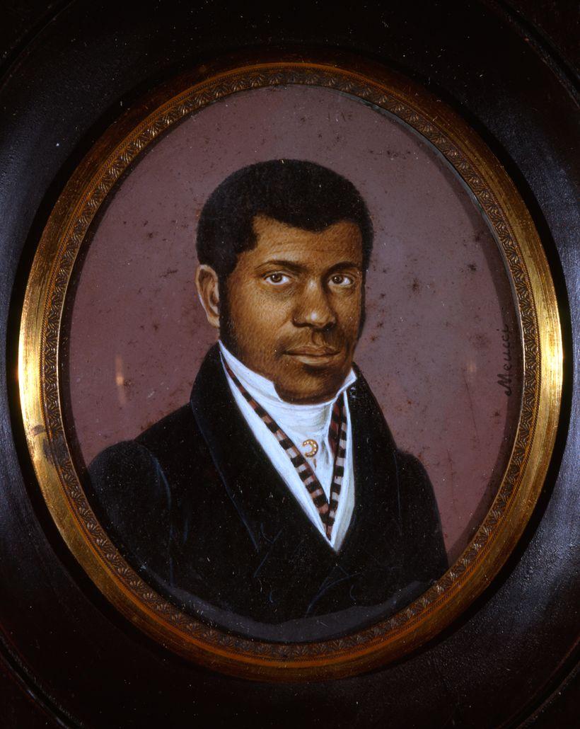 Anthony Meucci. <em>Pierre Toussaint</em> <em>(ca. 1781-1853)</em>, ca. 1825. New-York Historical Society.