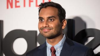 NEW YORK, NY - MAY 11:  Comedian Aziz Ansari attends 'Master Of None' Season 2 premiere at SVA Theatre on May 11, 2017 in New York City.  (Photo by Noam Galai/WireImage)