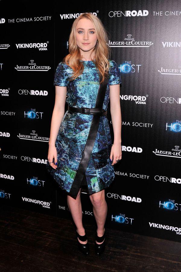Saoirse Ronan, une icône mode en