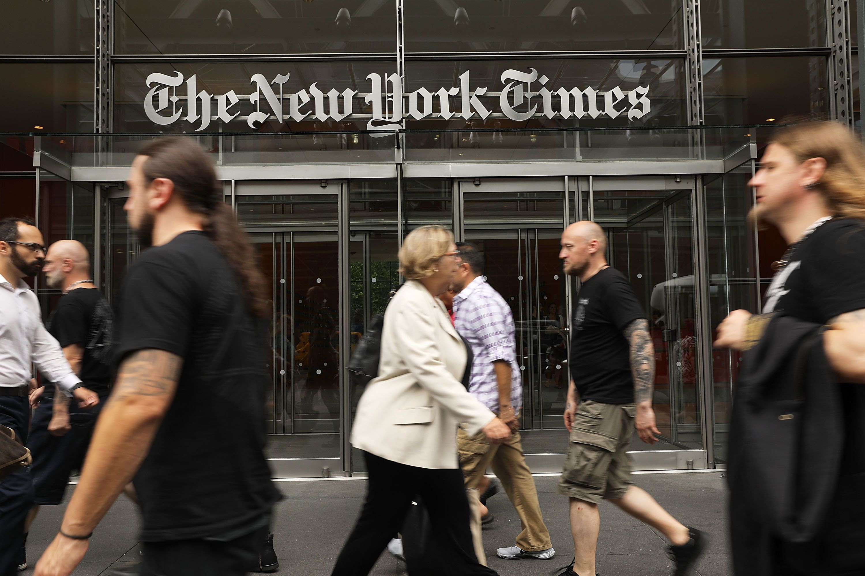 New York Times Opinion Page To Publish Letters From Trump