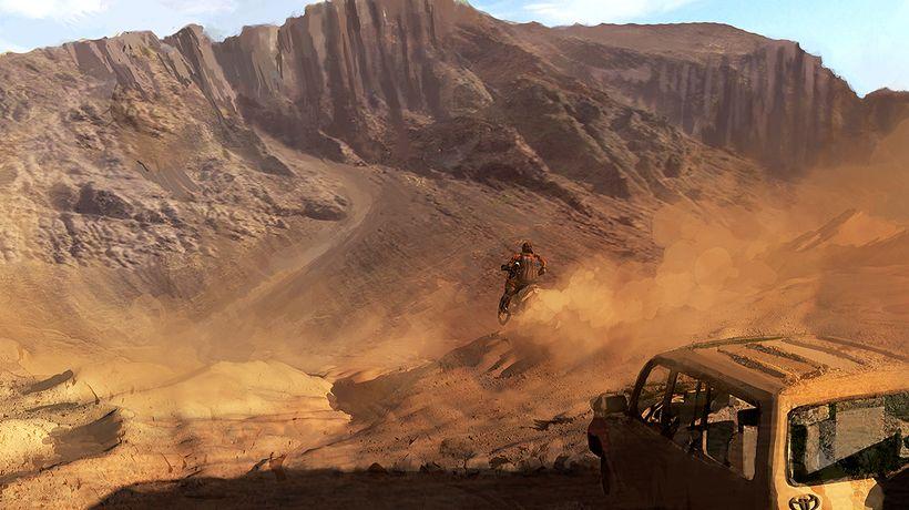 """Dakar 18 Video Game Announcement Trailer: Concept Art by <a rel=""""nofollow"""" href=""""http://realtimeuk.com/"""" target=""""_blank"""">Real"""