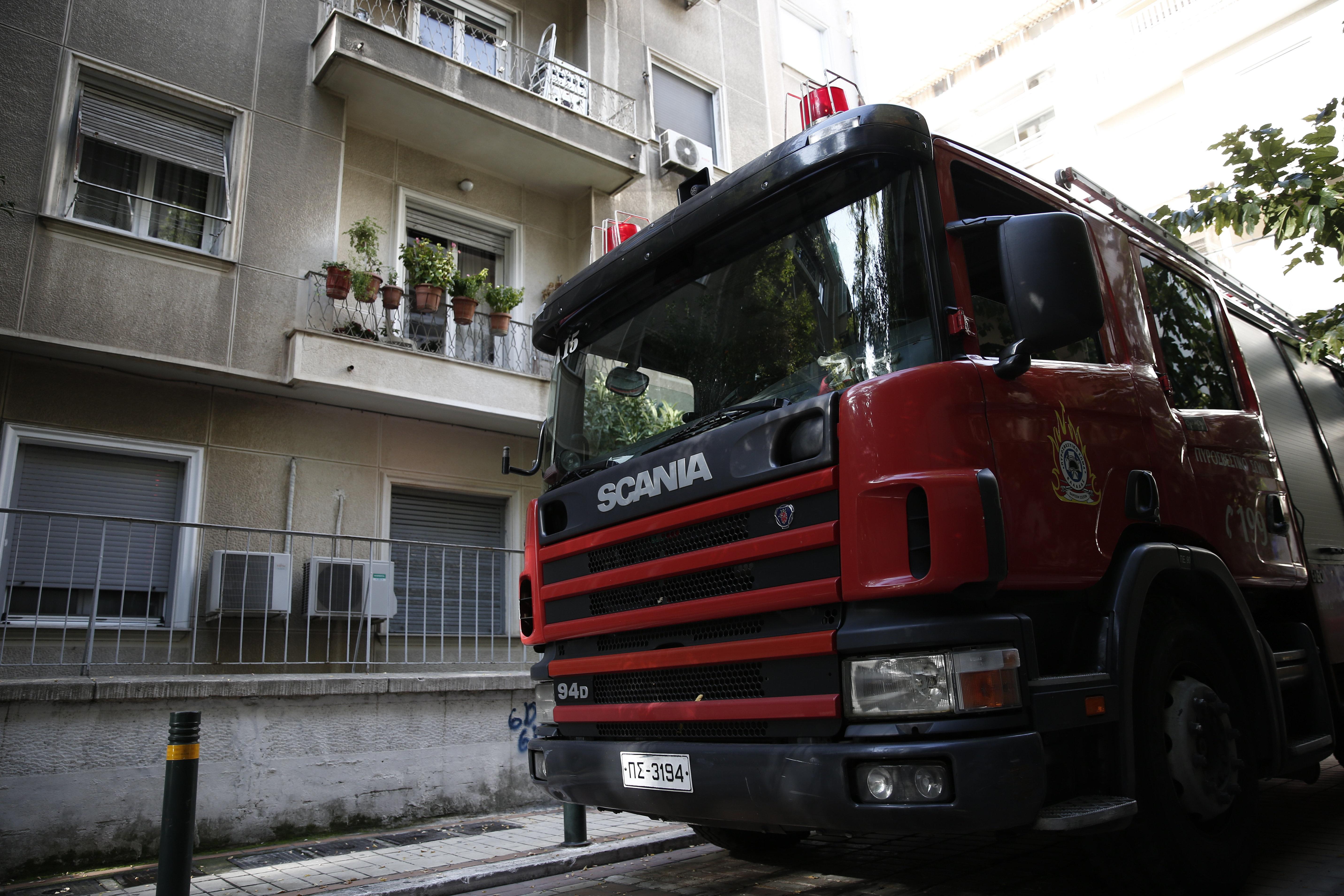 78χρονος νεκρός από πυρκαγιά σε διαμέρισμα στην