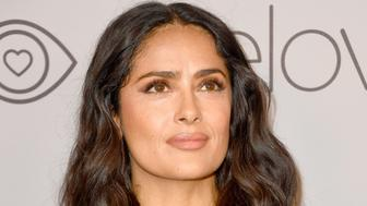 BEVERLY HILLS, CA - JANUARY 07:  Actor Salma Hayek attends 19th Annual Post-Golden Globes Party hosted by Warner Bros. Pictures and InStyle at The Beverly Hilton Hotel on January 7, 2018 in Beverly Hills, California.  (Photo by Frazer Harrison/Getty Images)