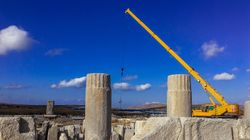 Ολοκληρώθηκαν οι προκαταρκτικές εργασίες για την αναστήλωση της Στοάς του Φιλίππου Ε' στη