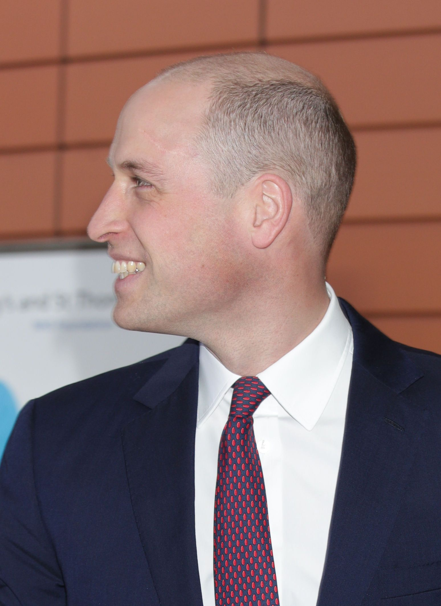 The Duke Of Cambridge Debuts Shaved