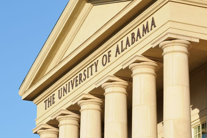 "The University of Alabama president called Harley Barber's actions ""racist and disturbing."""