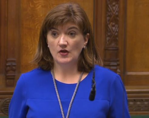 Nicky Morgan in the House of Commons. The Tory MP will be investigating RBS' conduct as chair of the...