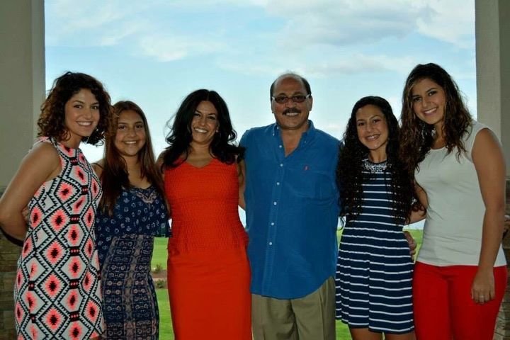 Another photo of the Adi family.