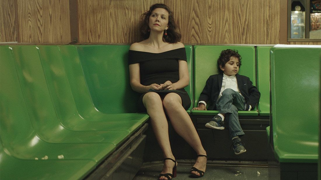 "Maggie Gyllenhaal and Parker Sevak in ""The Kindergarten Teacher"" by Sara Colangelo."