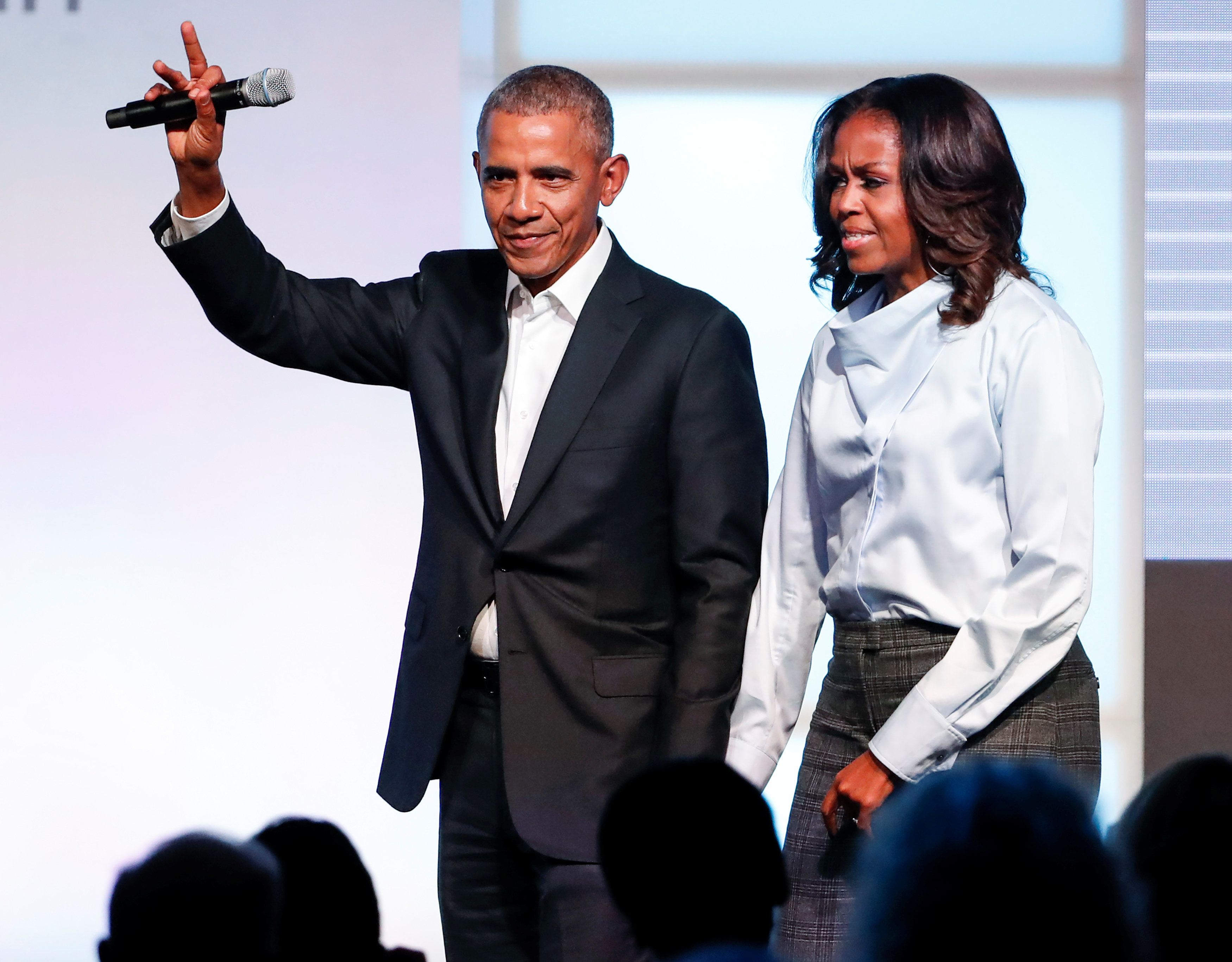 A Year After He Left Office, Barack Obama's Ratings Are Up