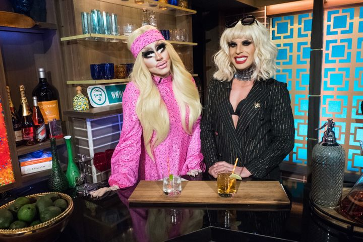 "Trixie and Katya on ""Watch What Happens Live."""