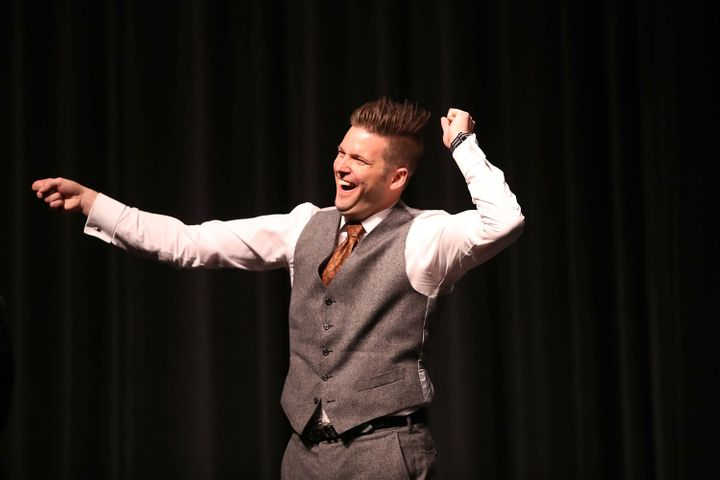 White nationalist Richard Spencer speaks at the University of Florida on Oct. 19, 2017. Michigan State University has agreed