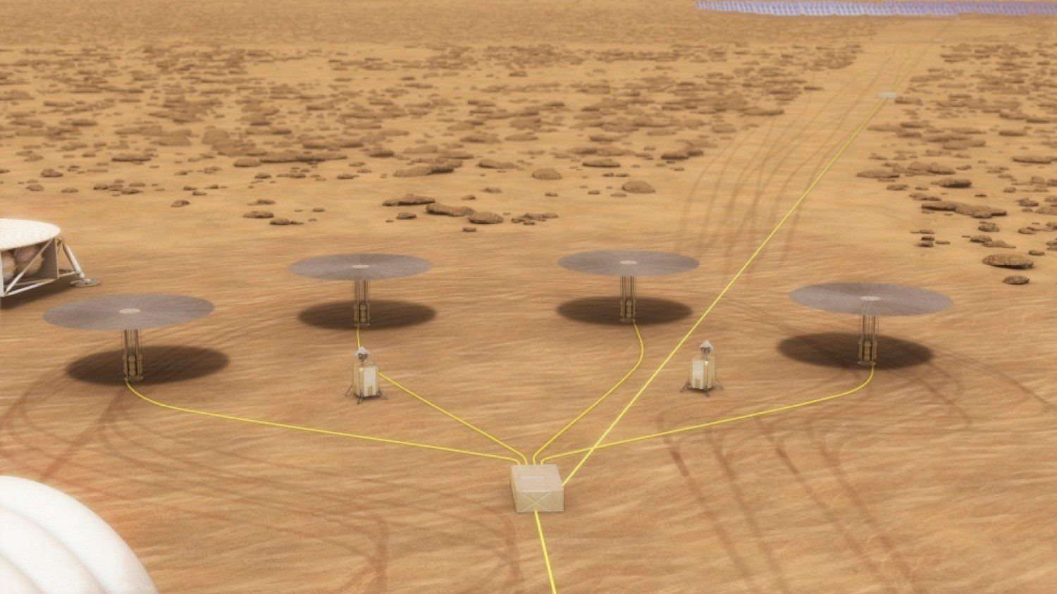 Nasa trials nuclear reactor to power settlement on Mars
