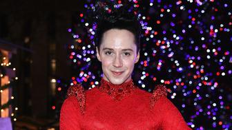 NEW YORK, NY - DECEMBER 01:  Johnny Weir attends the Bank of America Winter Village at Bryant Park's Annual Tree Lighting Skate-tacular on December 1, 2017 in New York City.  (Photo by Dimitrios Kambouris/Getty Images)