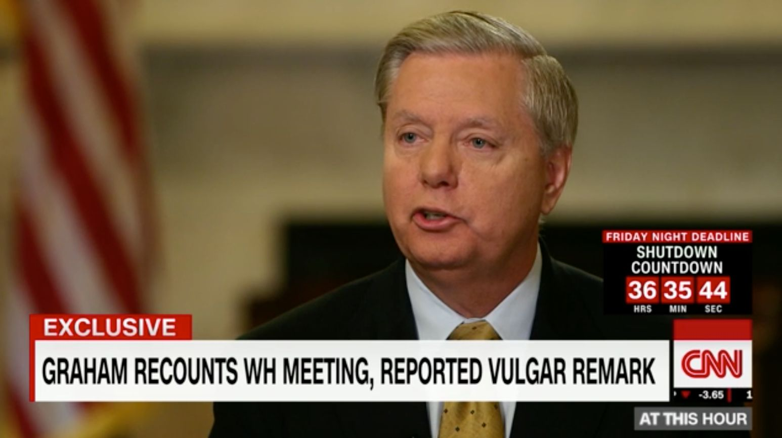 Graham: 'This has turned into a s-show'