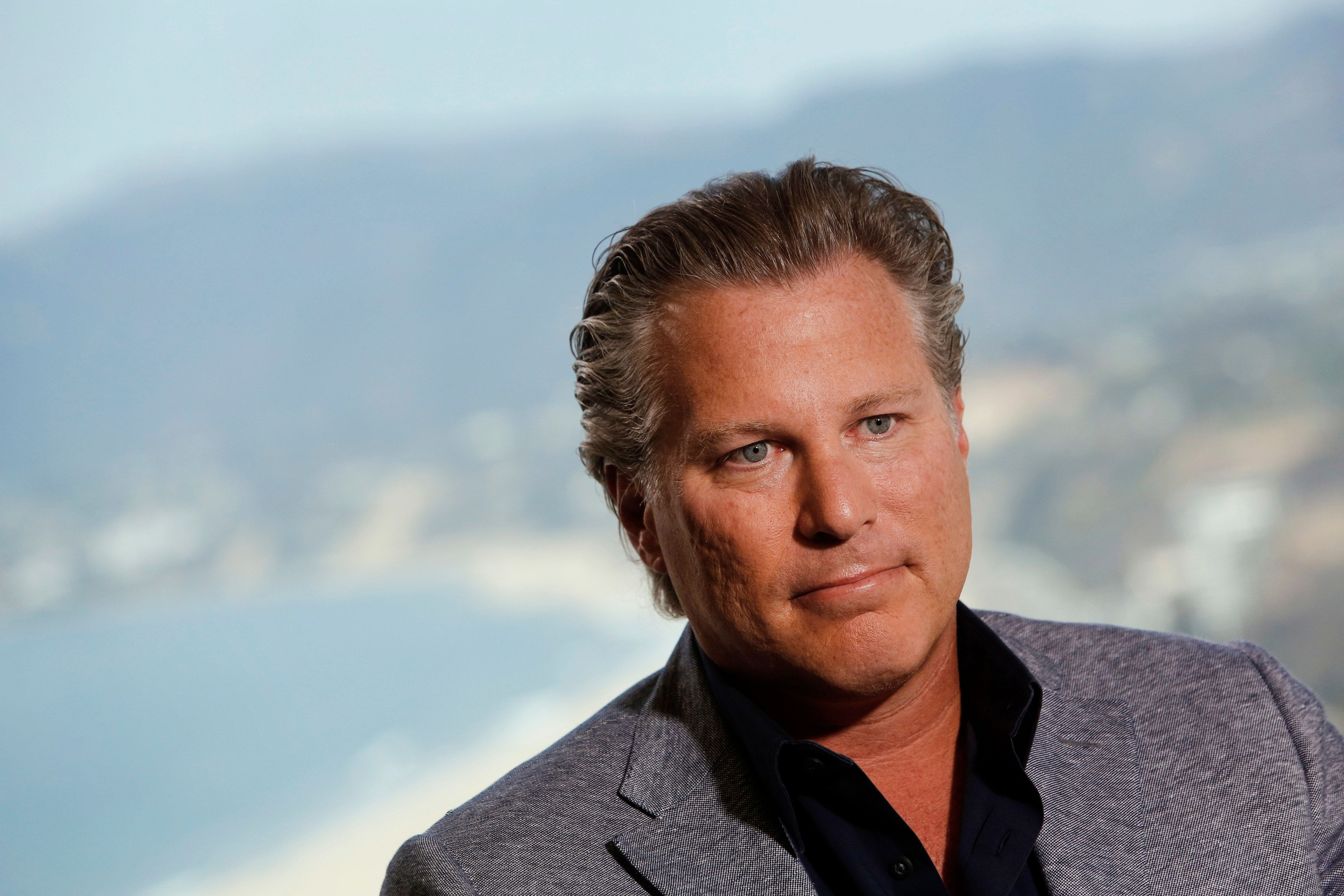 Ross Levinsohn was hired to run the Los Angeles Times last August.