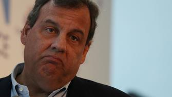PALM BEACH, FL - APRIL 03:  New Jersey Governor Chris Christie speaks during the 'Managing the Disruption' conference held at the Tideline Ocean Resort on April 3, 2017 in Palm Beach, Florida. The conference is put on by the Greene Institute, a nonprofit dedicated to finding, developing, and promoting strategies for increasing upward mobility in America.  (Photo by Joe Raedle/Getty Images)