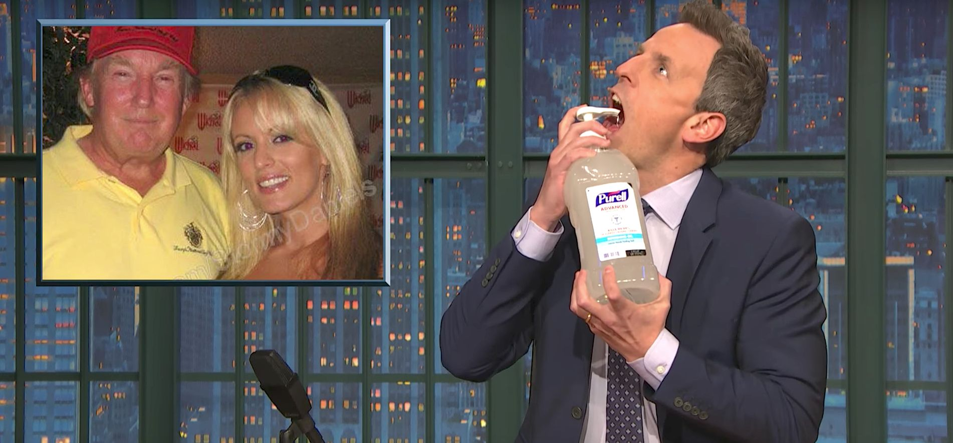 Seth Meyers, We Feel Your Pain Over Donald Trump's Reported Porn Star Affair