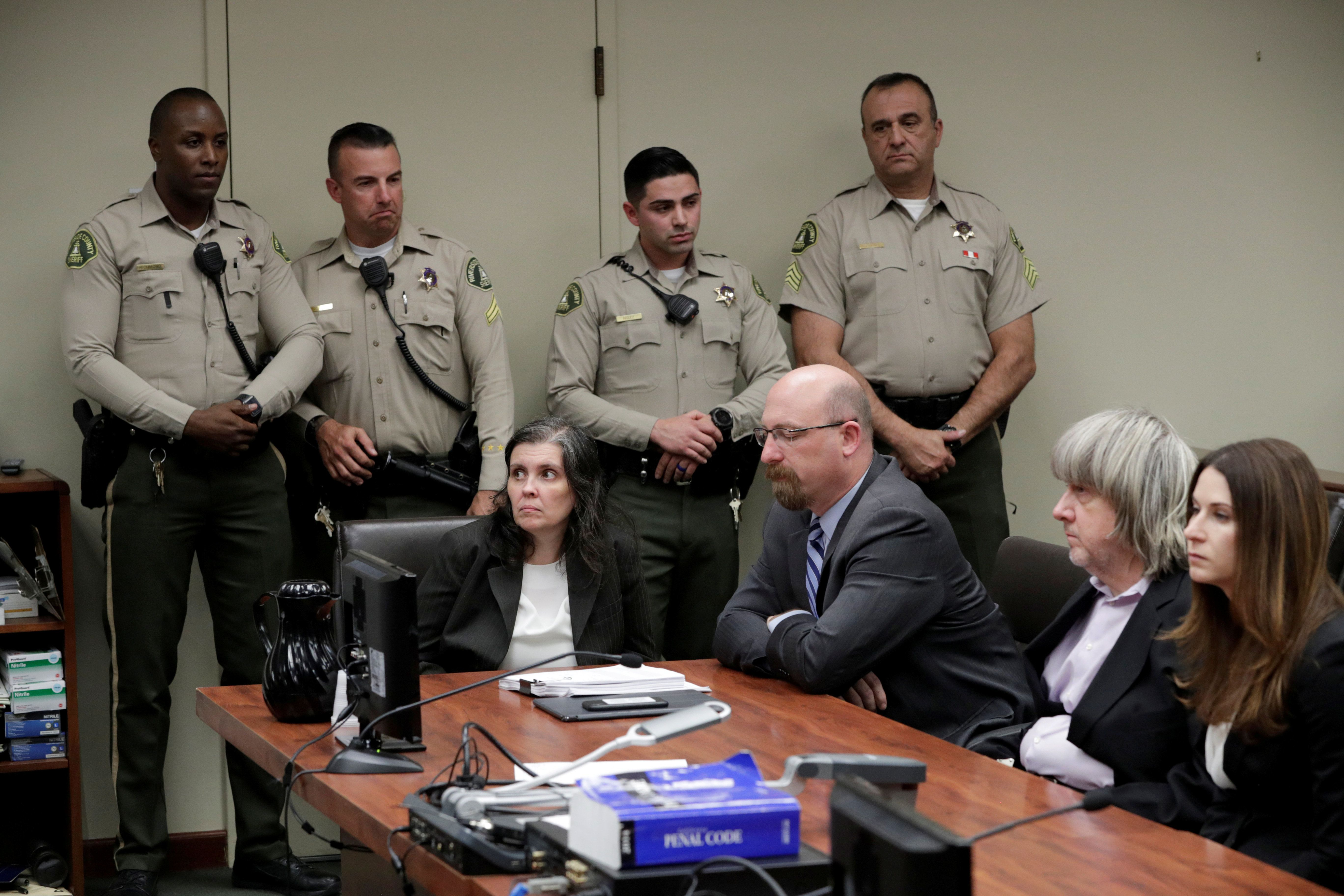Turpin Parents Deny Beating, Starving And Taunting Their Children With