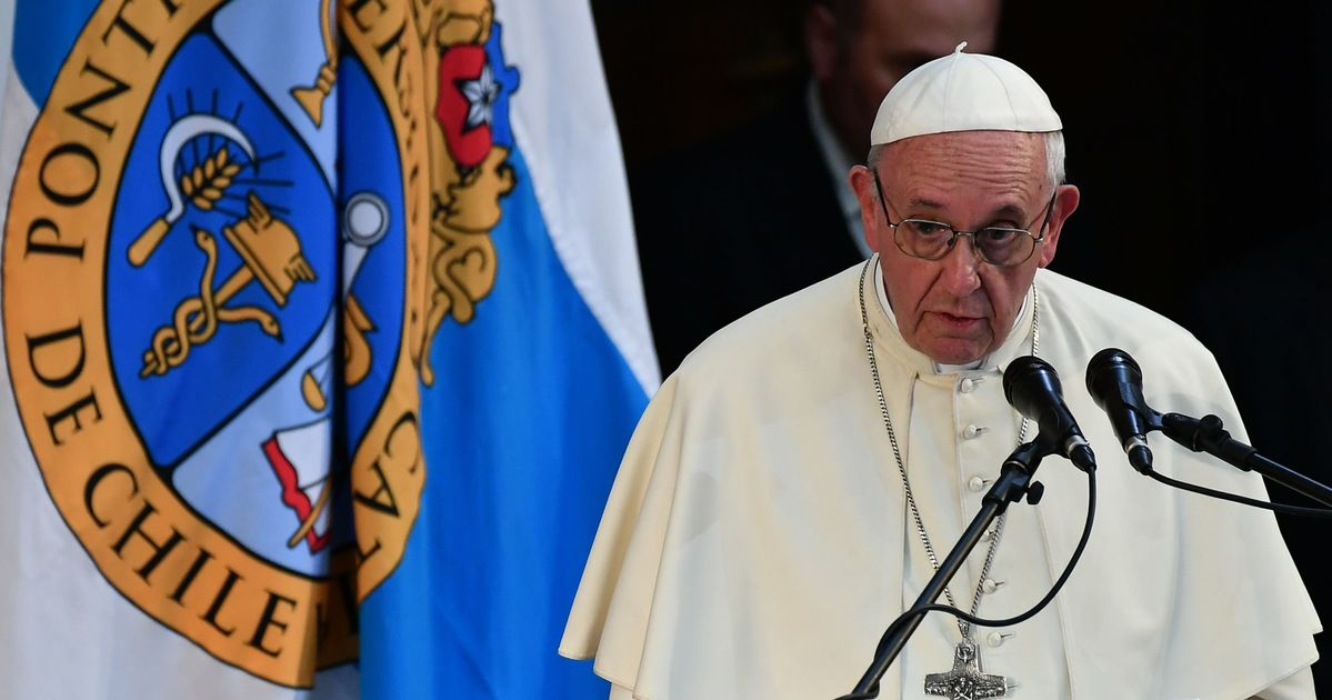 Pope Accuses Clergy Sex Abuse Victims Of Slander