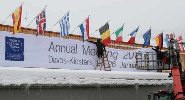 Oxfam released a report ahead of the World Economic Forum in Davos,