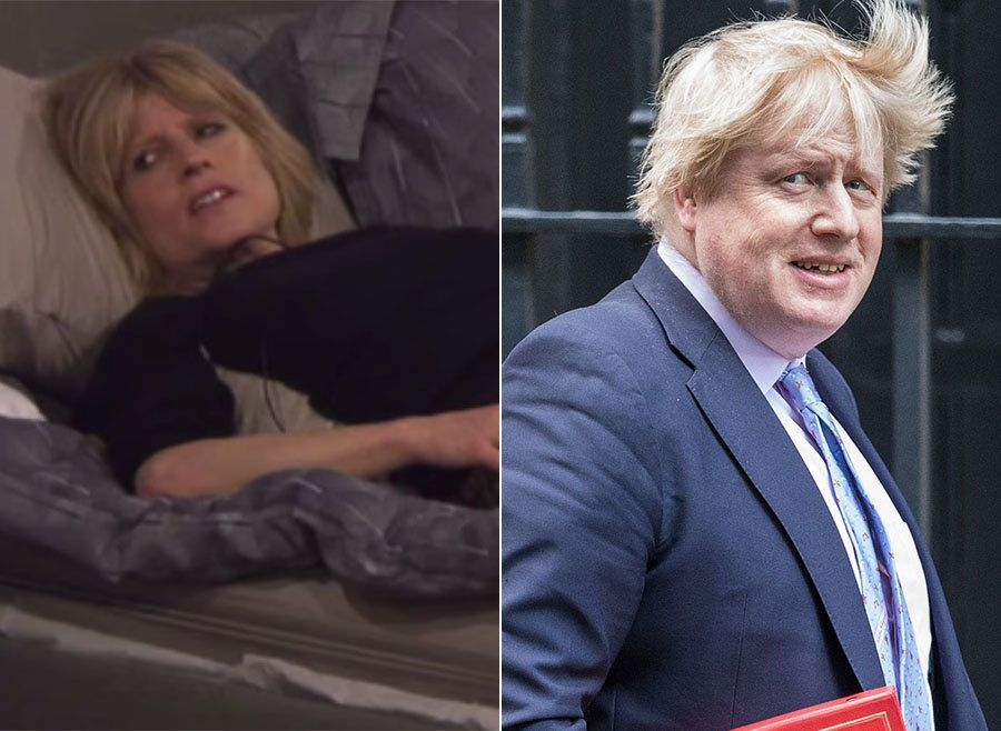 Rachel Johnson Goes On The Defensive As 'CBB' Housemates Slate Boris's