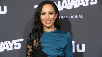 LOS ANGELES, CA - NOVEMBER 16:  Dancer / TV Personality Cheryl Burke arrives at the premiere of Hulu's 'Marvel's Runaways' at the Regency Bruin Theatre on November 16, 2017 in Los Angeles, California.  (Photo by David Livingston/Getty Images)