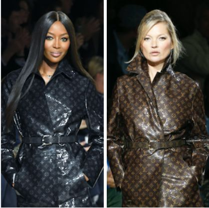 Kate Moss And Naomi Campbell Returned To The Runway Together For One Reason