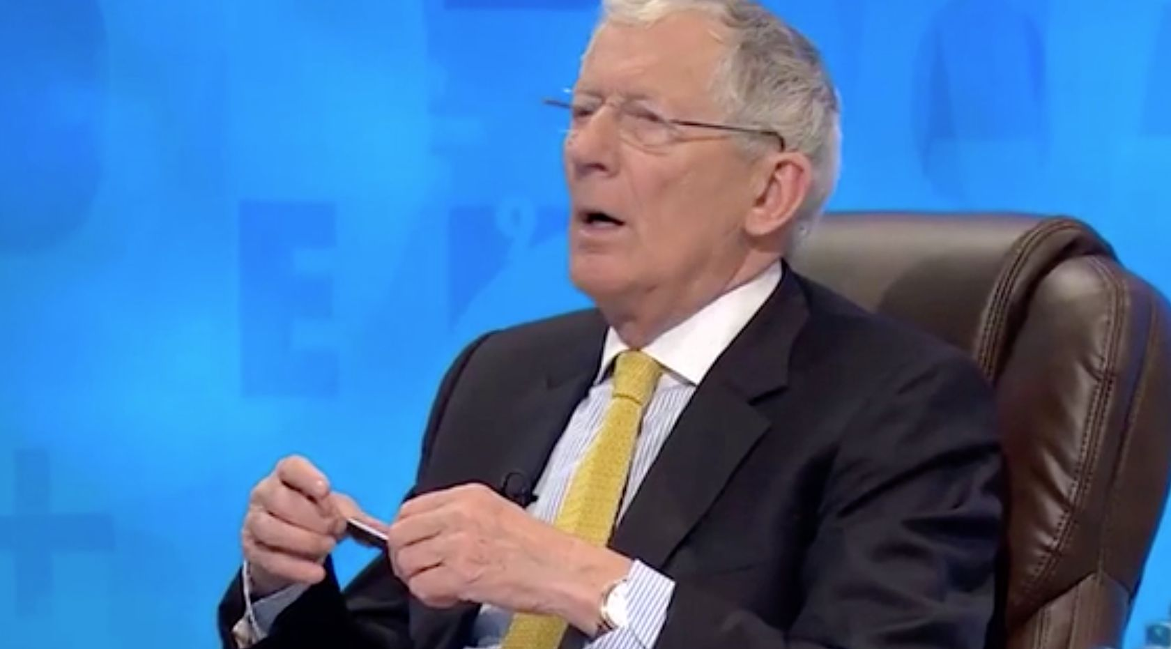 'Countdown' Gives Us Its First Obscene Answer Of 2018, Leaving Nick Hewer