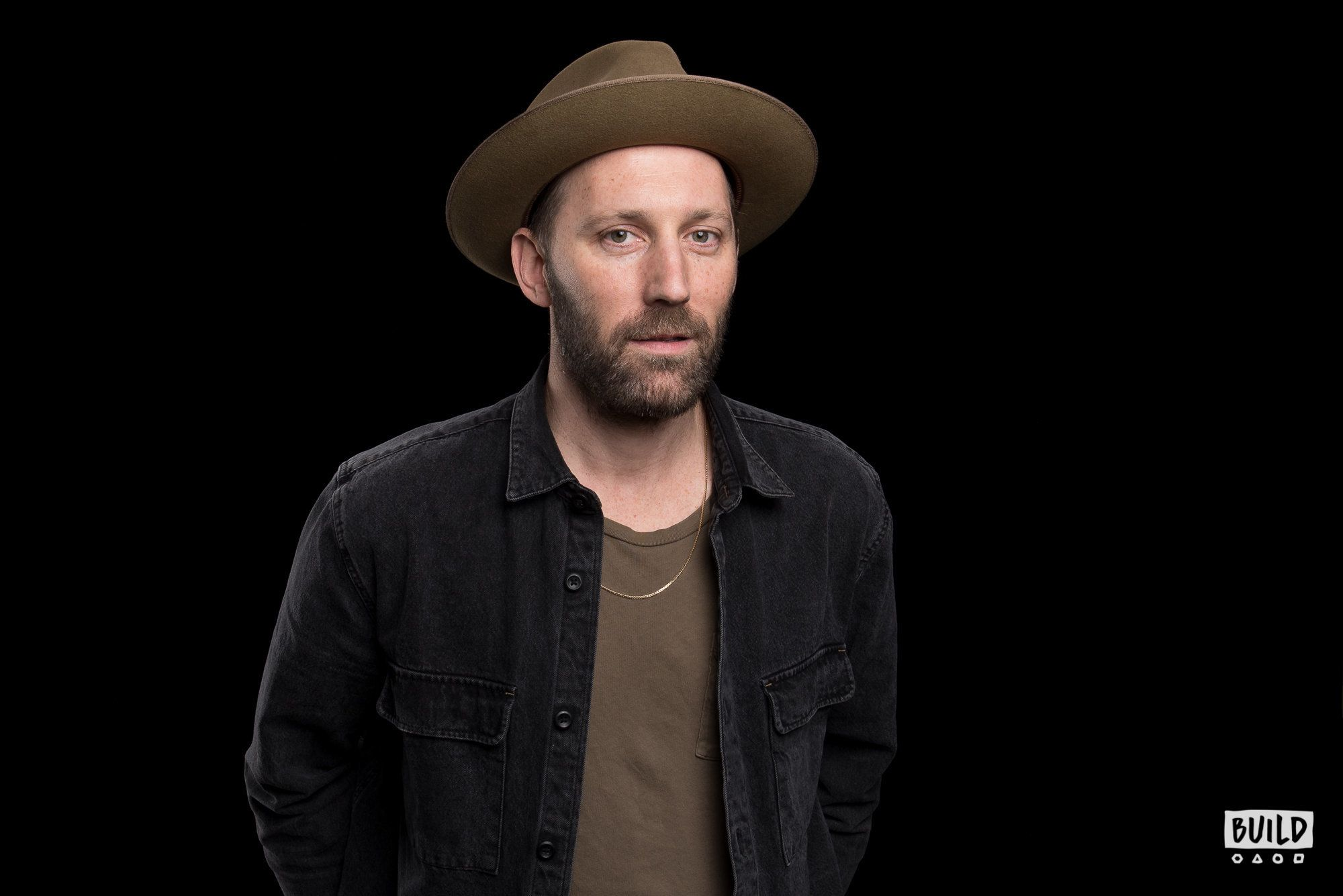 Mat Kearney visits Build Studio on January 17th 2018. Photo by Mike Pont.
