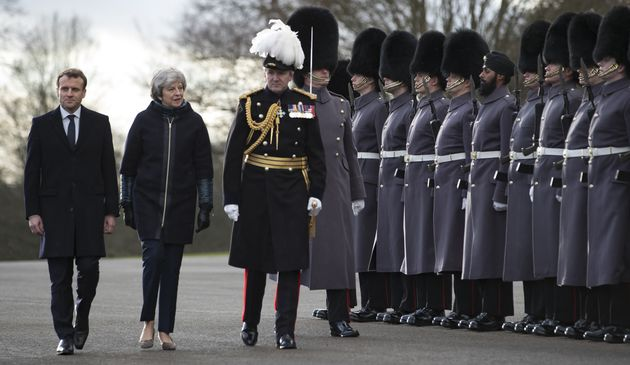 The May-Macron Sandhurst Treaty: Barbed Wire And Empty