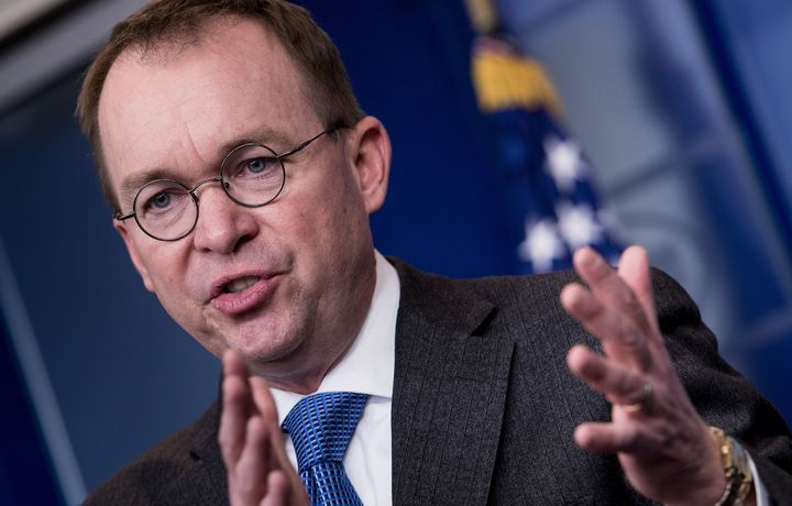 Office of Management and Budget Director Mick Mulvaney has indicated that if a shutdown happens, it will be the Democrat