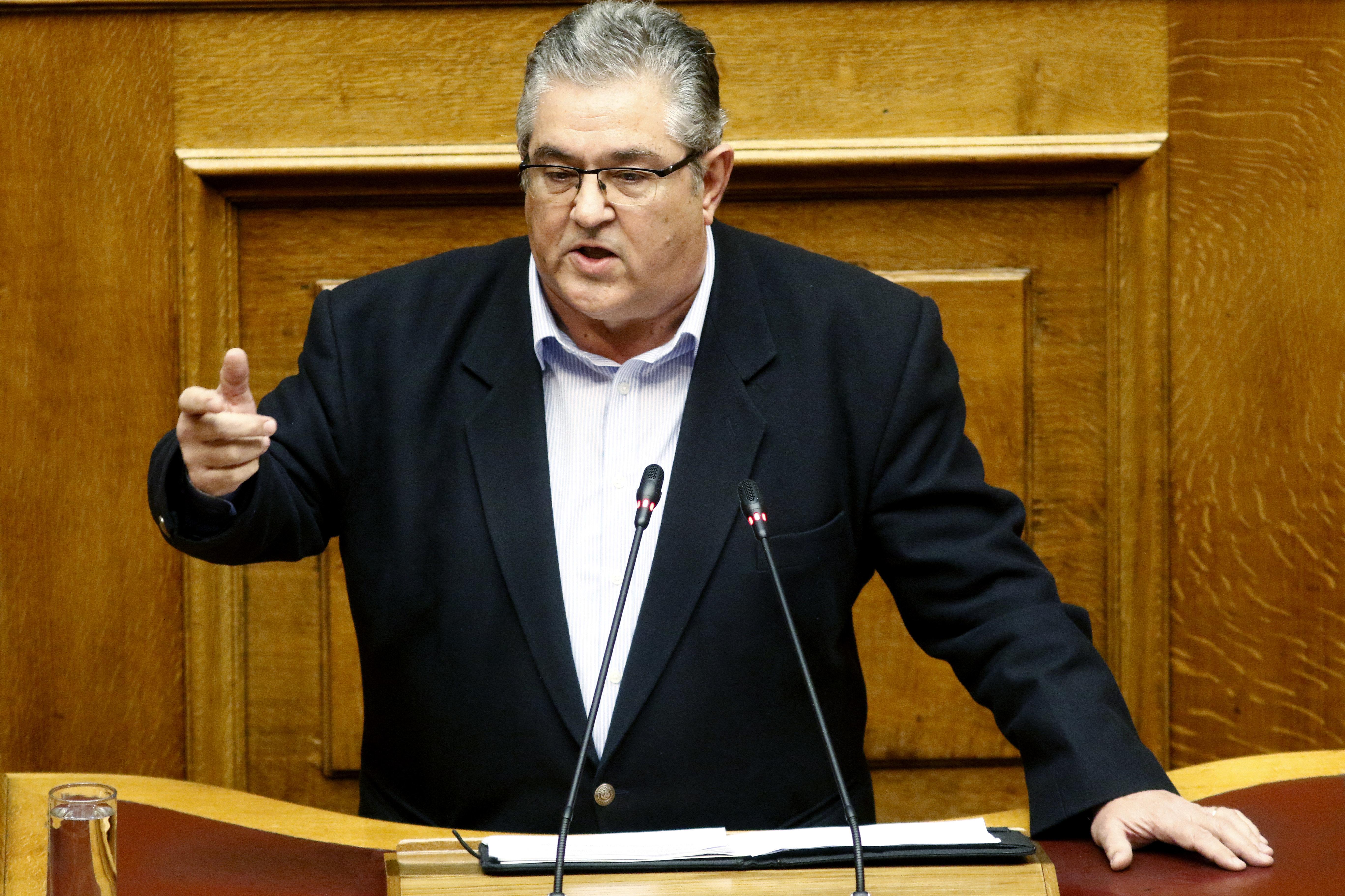 ΚΚΕ: Ο κ. Τσίπρας πάει να δικαιολογηθεί για το ότι έχει καταντήσει η «αριστερά» της ΕΕ, του ΝΑΤΟ και του