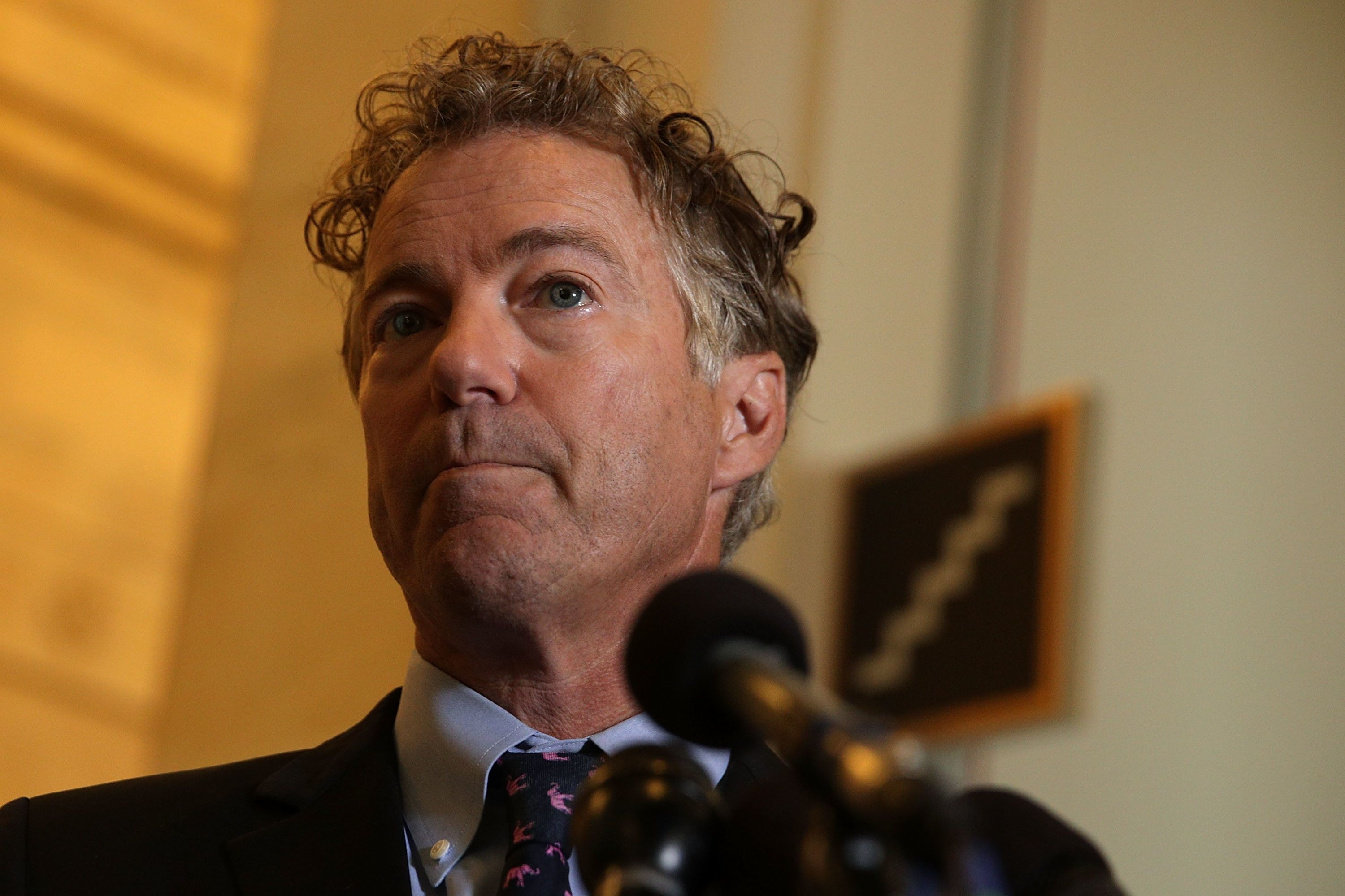 The Nov. 3 attack left Sen. Rand Paul (R-Ky.) with bruises and fractured ribs. He later developed pneumonia.
