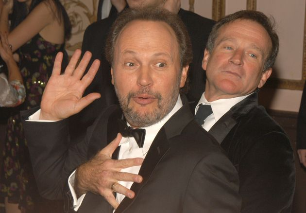 Actors Billy Crystal and Robin Williams used to send each other goofy
