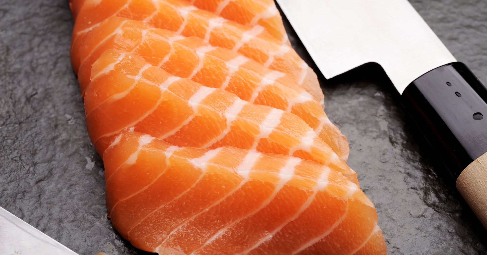 Sushi fanatic rethinks raw fish after pulling 5 foot for Diarrhea after eating fish