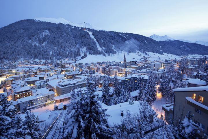 Davos, Switzerland, is the host of the annual World Economic Forum. President Trump is scheduled to speak there on Friday.