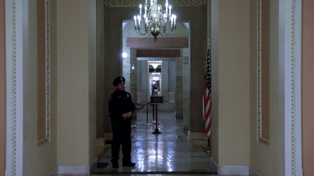 Government Shutdown Enters Second Day As Standoff Continues