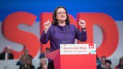 So hämisch spottet SPD-Fraktionschefin Nahles über Spahn und Dobrindt