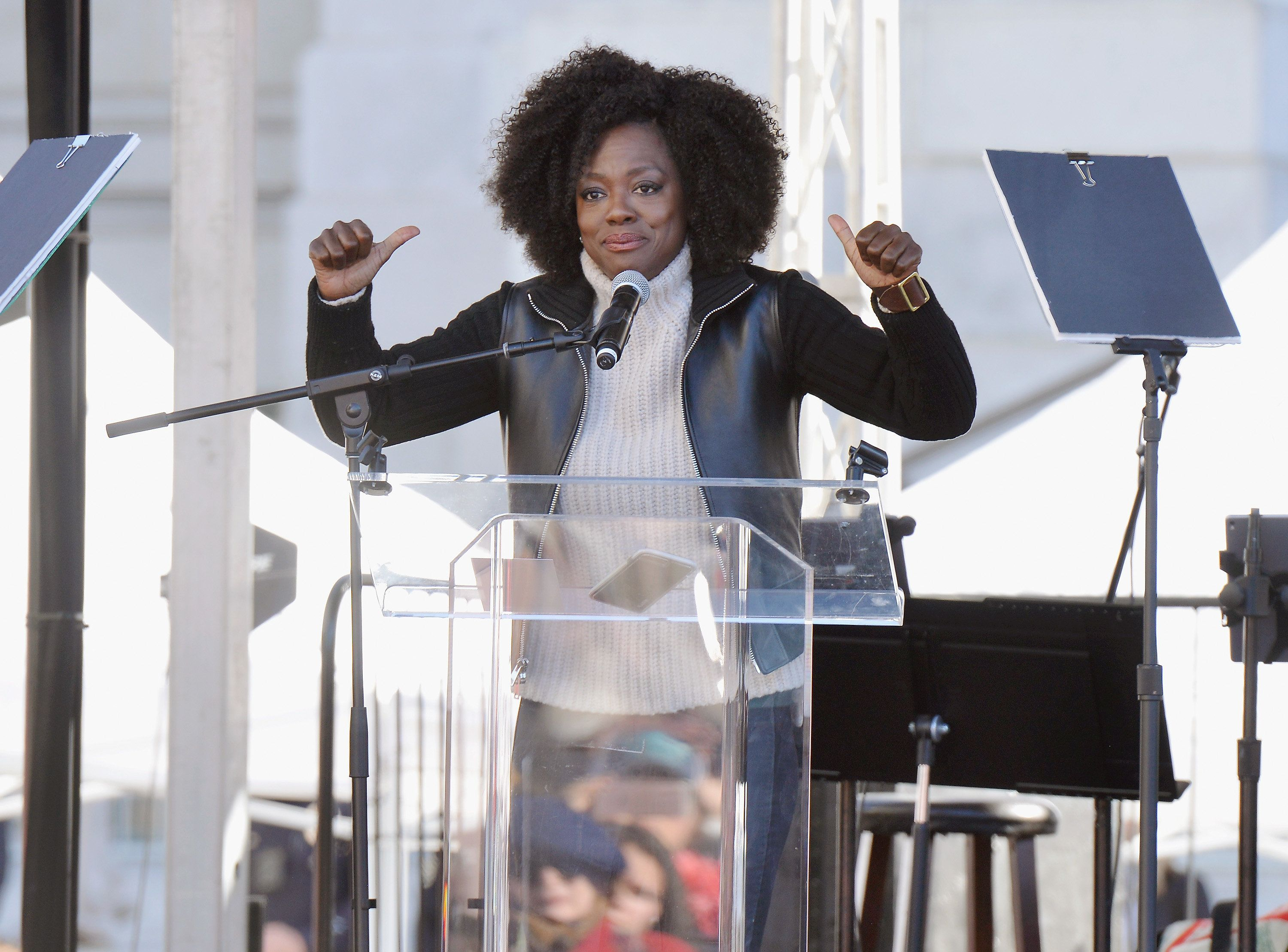 If You Only Watch One Thing Today, Make It Viola Davis's Women's March
