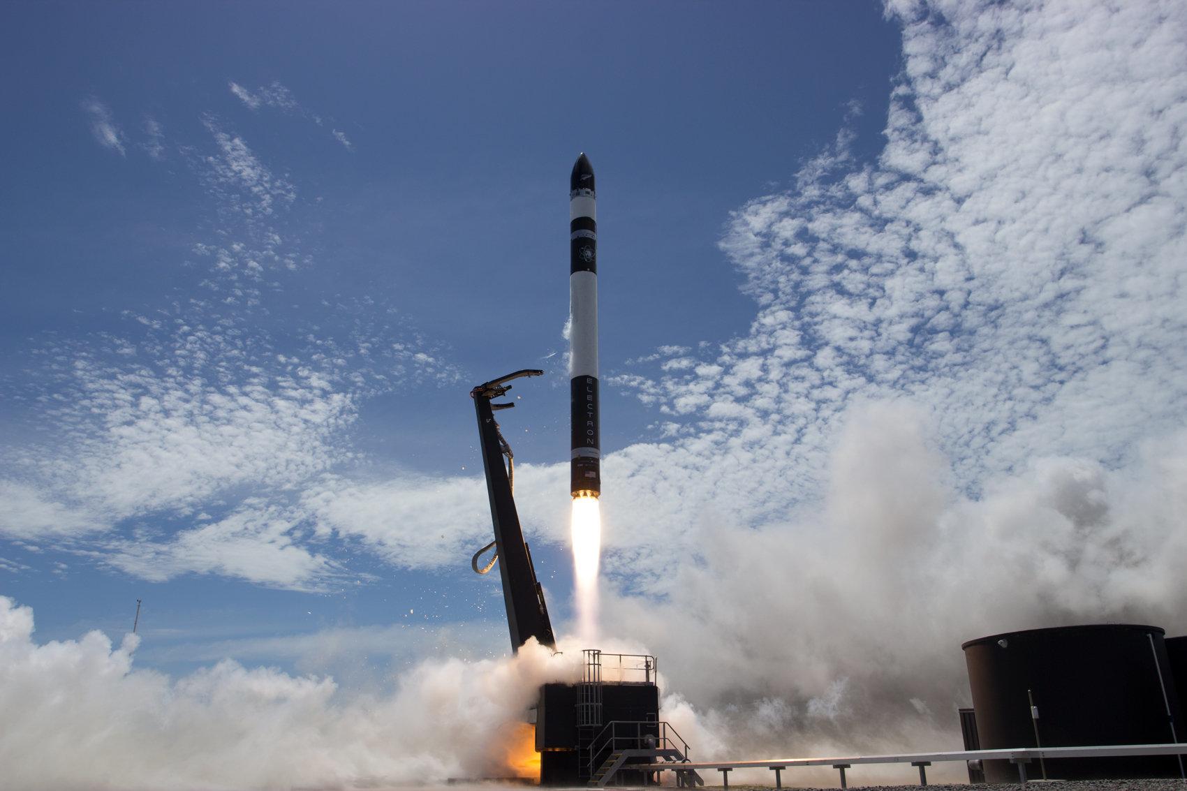 """Rocket Lab's Electron rocket is named """"Still Testing."""""""