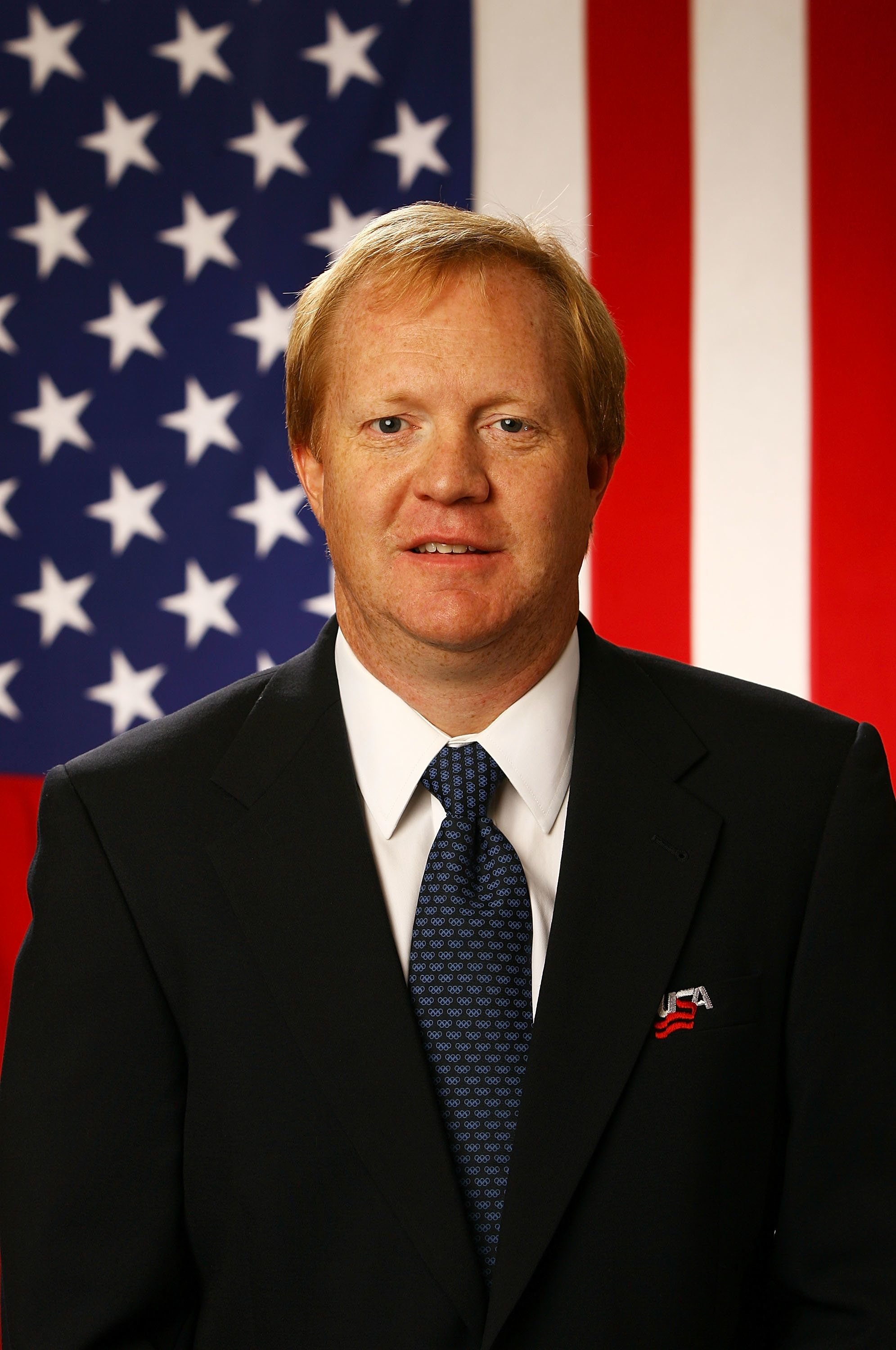 WOODRIDGE, IL - AUGUST 19:  Assistant Executive Director of Hockey Operations Jim Johannson poses for a portrait during the USA Olympic Men's Ice Hockey Orientation Camp on August 19, 2009 at Seven Bridges Ice Arena in Woodridge, Illinois.  (Photo by Jamie Squire/Getty Images)