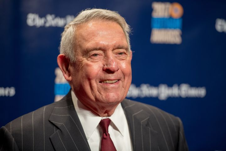Dan Rather at the 2017 IFP Gotham Awards in New York City.