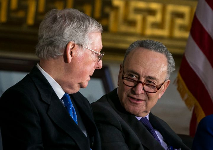 Senate Majority Leader Mitch McConnell (R-Ky.) and Senate Minority Leader Chuck Schumer (D-N.Y.) haven't been able to reach a